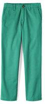 Classic Boys Slim Iron Knee Cadet Pants-Capri Aqua