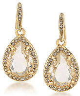 Carolee Columbus Circle Teardrop Earrings