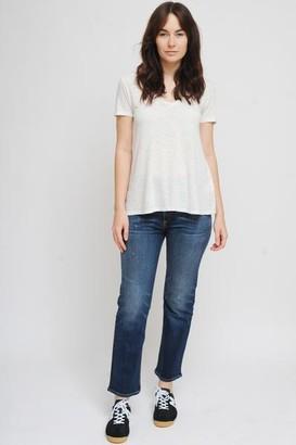 American Vintage Kobibay Short Sleeve T Shirt In Vintage Lunar - L