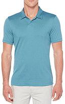 Perry Ellis Open Short-Sleeve Polo Shirt