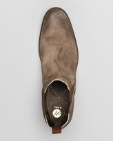 Hudson H by Patterson Suede Chelsea Boots