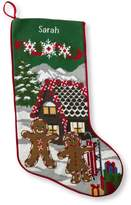 L.L. Bean Christmas Needlepoint Stocking, Cotton