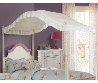 Kilraghts Provincial Inspired Eyelet Bed Canopy Harriet Bee