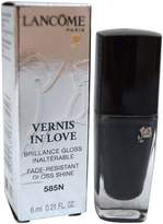 Lancôme Paris Vernis In Love Gloss Shine Nail Polish 585N Noir Caviar