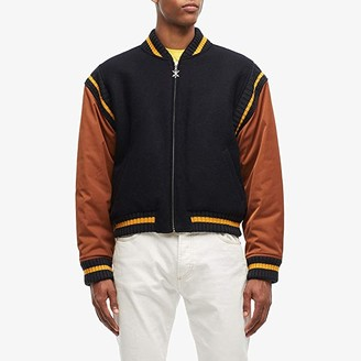 Opening Ceremony Reversible Varsity Jacket (Navy/Carob) Clothing