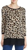 Cupio Leopard Print Sweater