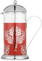 La Cafetiere Red Damask 8-Cup French Press