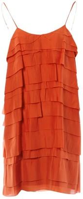 Stella McCartney Stella Mc Cartney Red Silk Dresses