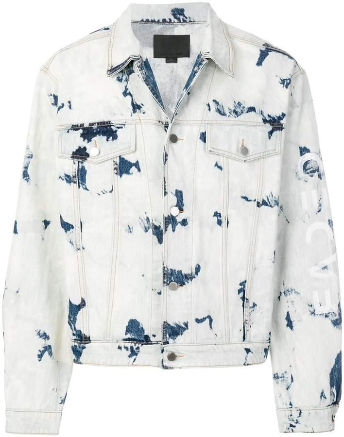 Alexander Wang Bleached Denim jacket
