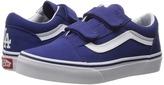 Vans Kids Old Skool V x MLB Los Angeles/Dodgers/Blue) Kids Shoes