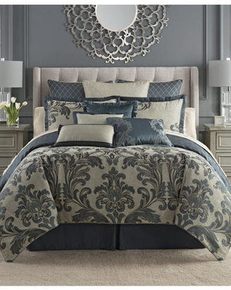 Waterford Everett Reversible Comforter, Sham & Bed Skirt Set