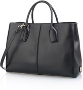 D-Styling Medium Leather Shopping Bag