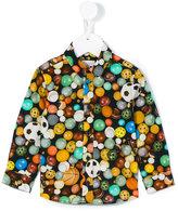Paul Smith football print shirt - kids - Cotton - 24 mth