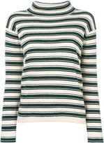 Bellerose striped roll neck jumper