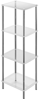 John Lewis Shine 4 Tier Shelf Unit