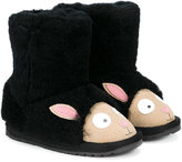 Emu black sheep boots