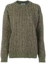 Prada chunky knit sweater