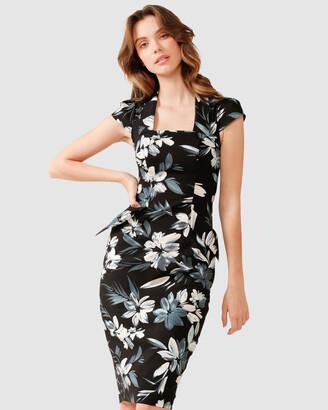 SACHA DRAKE - Women's Black Dresses - City Hall Dress - Size One Size, 8 at The Iconic