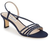 Nina Women's 'Gerri' Embellished Slingback Sandal