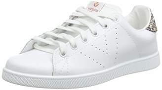 Victoria Unisex Adults' Deportivo Basket Piel Low-Top Sneakers - Pink (Rosa) - (37 EU)