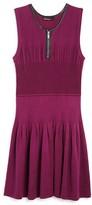 Ella Moss Girls' Pinch Pleat Knit Dress - Big Kid