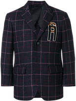 Raf Simons checked blazer