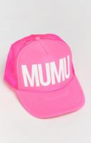 MUMU Trucker Hat ~ Neon Pink