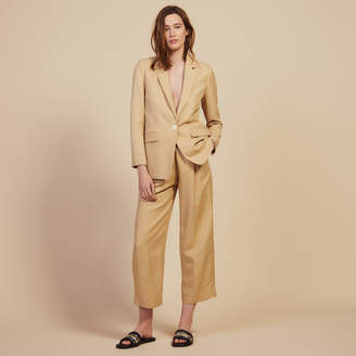 Sandro Tailored Jacket With Button Fastening