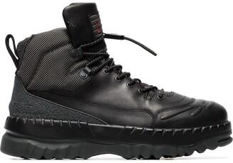 Camper Lab black X Kiko Kostadinov leather boots