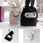 Big Bazaar Bazaar Mini Cute Ninja Rabbit Storage Bag Case Pouch 34 x 21cm