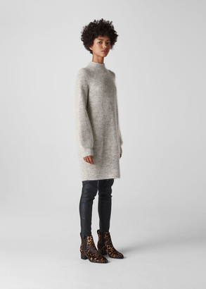 Mohair Funnel Neck Tunic