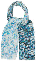 Yigal Azrouel Muticolor Abstract Scarf