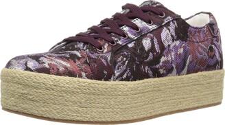 Kenneth Cole New York Women's Allyson Platform Lace Up Sneaker with Jute Wrap-Techni-Cole