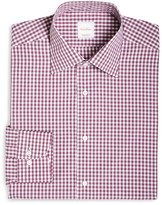 Brooks Brothers Gingham Woven Dress Shirt