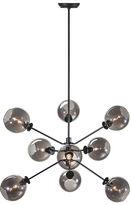 One Kings Lane 9-Light Atom Pendant, Gray