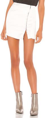 superdown Elina Hook & Eye Mini Skirt