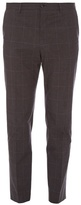 Dolce & Gabbana Prince Of Wales-checked Cotton Trousers