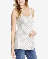 Jessica Simpson Maternity Striped Tank Top