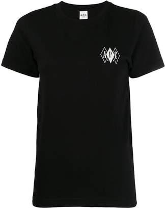 A.P.C. USA crew neck T-shirt