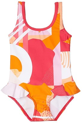 reima Swimsuit Corfu (Infant/Toddler) (Berry Pink 2) Girl's Swimsuits One Piece