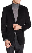 U.S. Polo Assn. Black Corduroy Two Button Notch Lapel Jacket