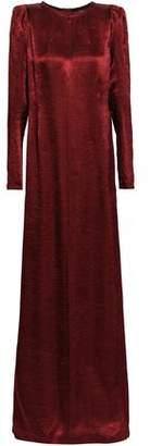 Ann Demeulemeester Crinkled-satin Gown