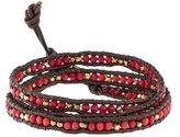 Chan Luu Coral & Bead Wrap Bracelet
