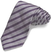 John Varvatos Sloan Plaid Narrow Tie (For Men)