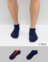 Puma 2 Pack Trainer Socks