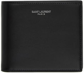 Saint Laurent Black Soho Wallet