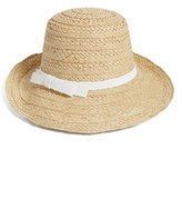 Kate Spade Women's Asymmetrical Sun Hat - White