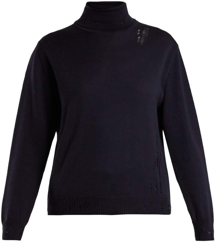 Golden Goose Pyxis distressed sweater
