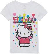 Hello Kitty Short-Sleeve Dot Tee - Toddler Girls 2t-4t