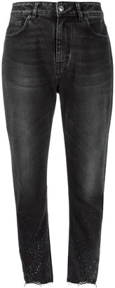 IRO tapered loose-fit denim jeans